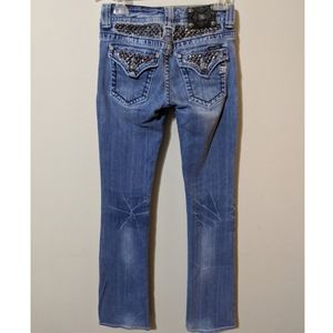 🆕Miss Me Studded Bootcut Jean's Sz 27